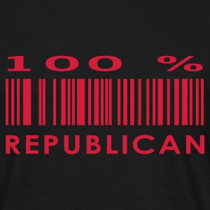 Black republican T-Shirts - Men's T-Shirt