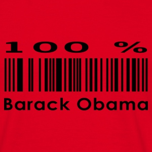 Red Barack Obama T-Shirts - Men's T-Shirt