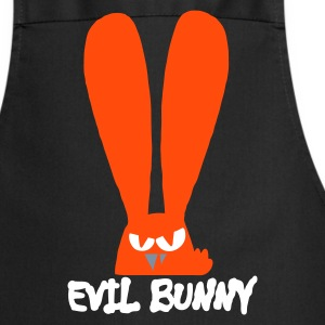 Black EviL BuNnY! Gifts - Cooking Apron