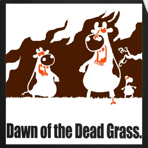 Black DAWN of the DEAD GRASS! Gifts - Cooking Apron