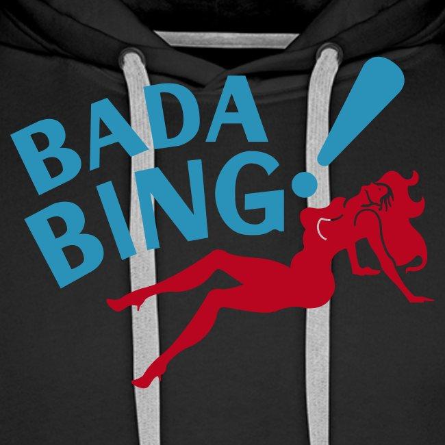 Bada Bing hoody capuchontrui mannen