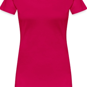 Pink abstract_3 Girlie - Women's Premium T-Shirt