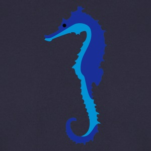 Navy Seahorse / Hippocampus Jumpers - Men's Sweatshirt