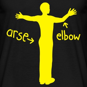 Arse from Elbow - Men's T-Shirt