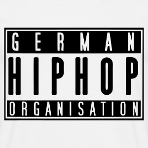 German HipHop Organisation (weiß) - Männer T-Shirt