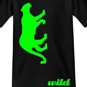 Panther für wilde Kidz - Teenager T-Shirt