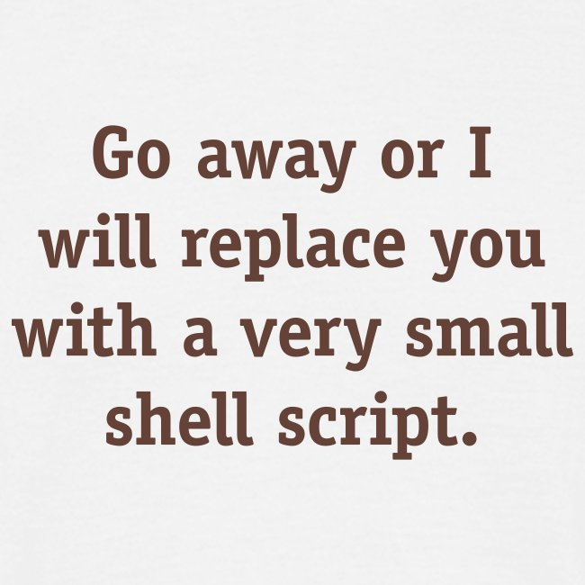 Small shell script
