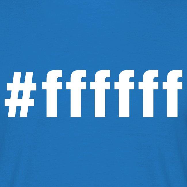 white - #ffffff