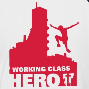Working Class Hero - Mannen baseballshirt korte mouw