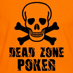 Orange/noir Dead Zone (1color) Hommes - T-shirt contraste Homme