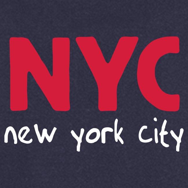 """Kochschürze """"NYC"""" navy"""