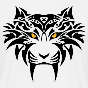 tribal tiger - Männer T-Shirt