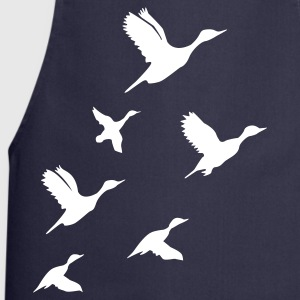 Navy Flying Ducks  Aprons - Cooking Apron