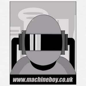 White Machine Boy - Action Figures T-Shirts - Men's T-Shirt