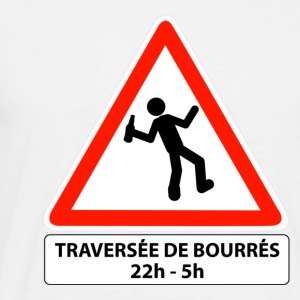 attention traversée de bourrés - T-shirt Homme