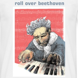 Roll over Beethoven - Männer T-Shirt