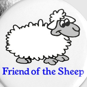 Friend of the Sheep Badge - Buttons large 56 mm