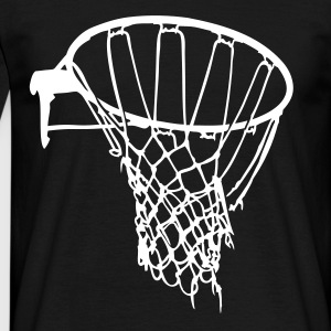 Sort basket net raw basketball T-shirts (kortærmet) - Herre-T-shirt
