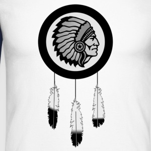 native america - T-shirt baseball manches longues Homme