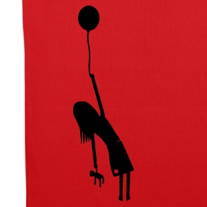 Red balloon girl Bags  - Tote Bag