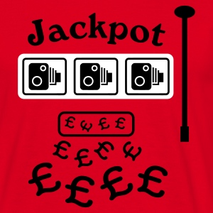 Speed Camera Jackpot T-Shirt - Men's T-Shirt