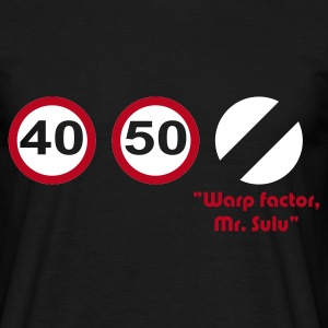 Warp Factor Speed T-Shirt - Men's T-Shirt