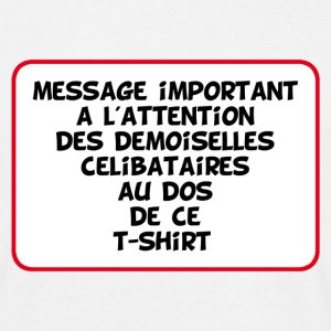 message important - T-shirt Homme