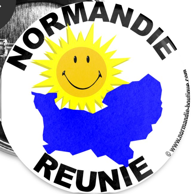 5 badges Normandie Réunie