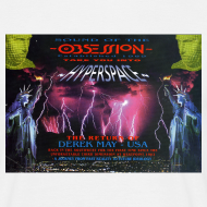 Design ~ Obsession Hyperspace Rave flyer t-shirt