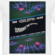 Design ~ Obsession Club Rave Flyer T-shirt