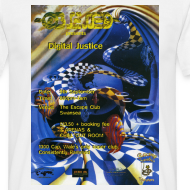 Design ~ Obsessed Digital Justice Rave Flyer T-shirt