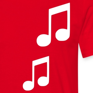 Red Note Men's Tees (short-sleeved) - Men's T-Shirt