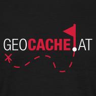 Motiv ~ geocache.at shirt schwarz