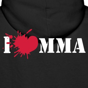 I love mixed martial art - Premium hettegenser for menn