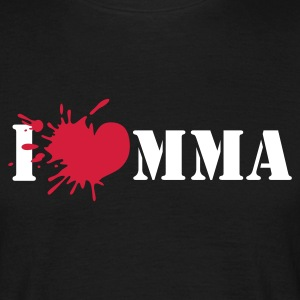 I love mixed martial art - T-shirt herr