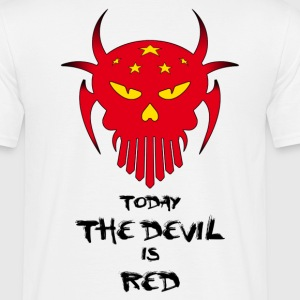 red chinese devil - T-shirt Homme