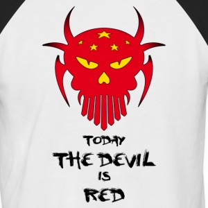 red devil - T-shirt baseball manches courtes Homme