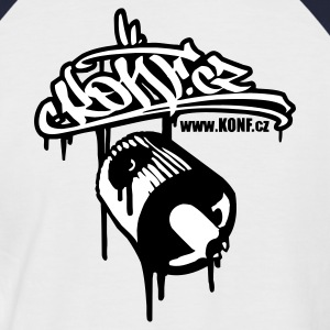 Konf.cz_cap - Men's Baseball T-Shirt