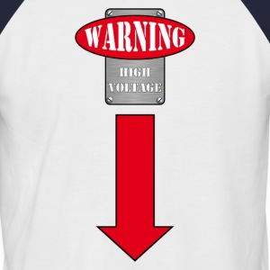 warning - T-shirt baseball manches courtes Homme