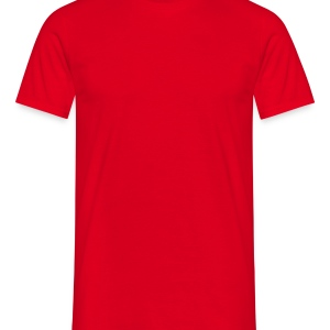 Red Skull & Crossbones Caps & Hats - Men's T-Shirt