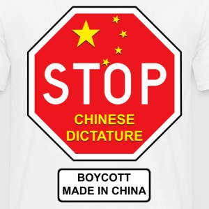 chinese dictature - T-shirt Homme