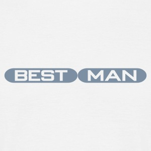 White Best Man T-Shirts - Men's T-Shirt