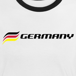 GERMANY - Frauen Kontrast-T-Shirt