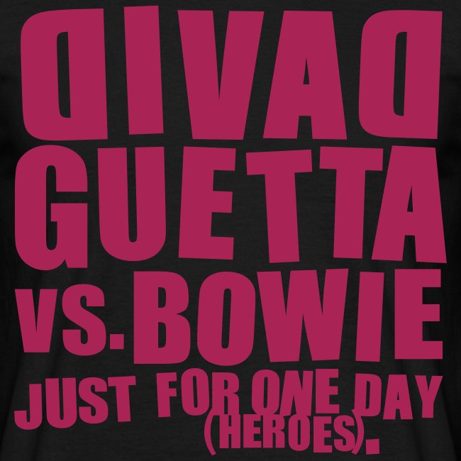 David Guetta vs. Bowie Homme