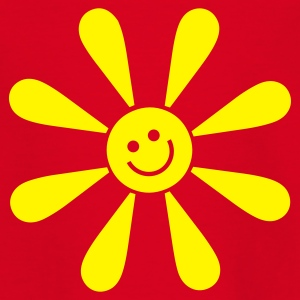 Red happy sun Juniors - T-shirt Ado