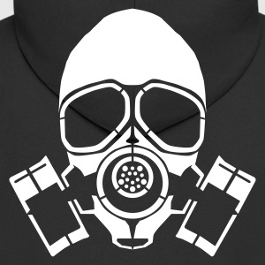 gas mask hooded jacket - Men's Premium Hooded Jacket