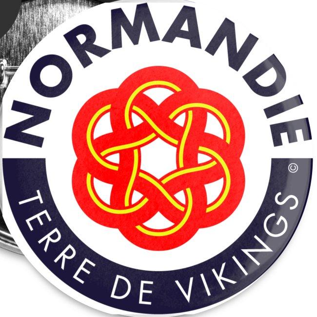 5 badges Normandie Terre de Vikings