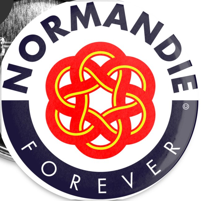 5 badges Normandie Forever
