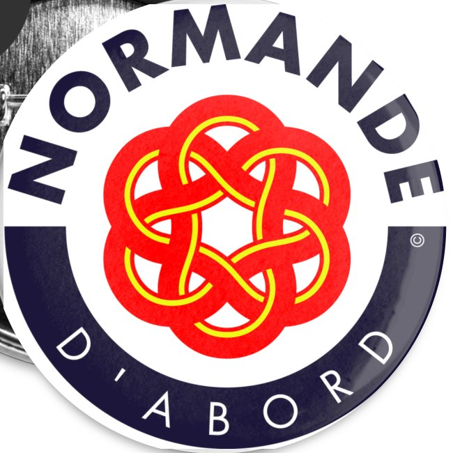 5 badges Normande d'abord