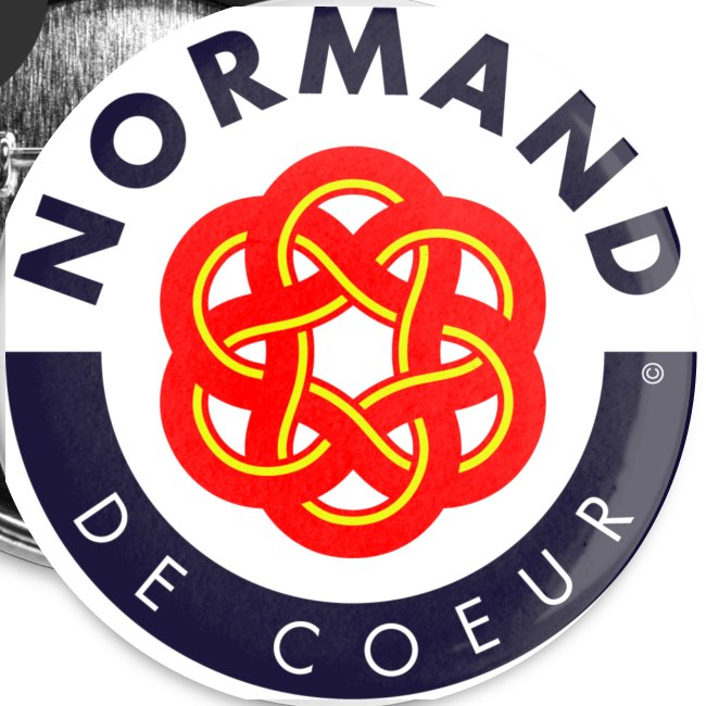 5 badges Normand de coeur